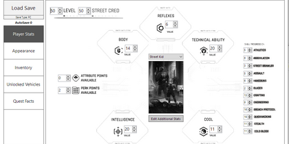Редактор Сохранений для Cyberpunk 2077 (Save Editor CyberCAT-SimpleGUI)