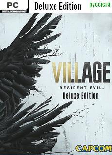 Купить игру Resident Evil: Village [PC] [Deluxe Edition] [Русская] - Дешево, Скидки, Низкие Цены