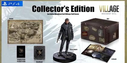 Купить Коллекционное издание Resident Evil: Village [PS4 игры] [Русская] - Дешево, Скидки, Низкие Цены