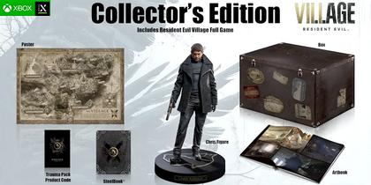 Купить Коллекционное издание Resident Evil: Village [Xbox Series X/S игры] [Русская] - Дешево, Низкие Цены, Скидки