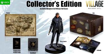 Купить Коллекционное издание Resident Evil: Village [Xbox One игры] [Русская] - Дешево, Низкие Цены, Скидки