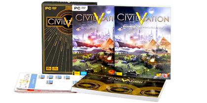 Купить игру Sid Meier's Civilization 5 [PC] [Подарочное издание] [Русская] - Дешево, Скидки, Низкие Цены