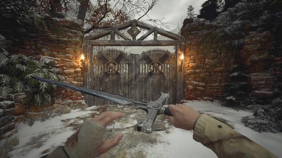 Средневековый Меч в Resident Evil: Village - Новое холодное оружие МОД / СКИН Добавить / Получить