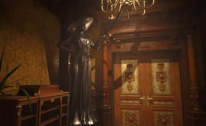 Статуя Леди Димитреску заменяет доспехи Resident Evil: Village - Мод Предметы