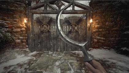 15 видов холодногo оружия для Resident Evil: Village - Топоры, Молот, Копье, Булава, Серп, Дубина, Кинжалы, Ножи - Мод сборка