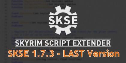Skyrim Script Extender - SKSE 1.7.3 - Скачать Последнюю официальную версию