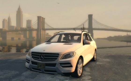 Автомобильный Мод для Mafia 2 - 2011 Mercedes ML 63 AMG