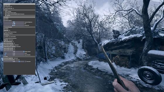 Увеличение угла обзора FOV, отключение виньетки Resident Evil: Village - Настройки Камеры